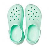 Кроксы женские Crocs Classic Bae Clog бирюзовые 36 р., фото 4