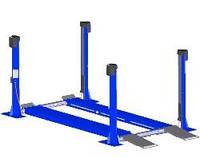 Подъемник четырехстоечный для грузовых авто до 10т. MAHA GmbH
