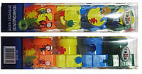 Краска 5005 пальчиковая Гамма 5цветов 30мл +печати