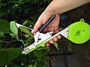🔝ПРОФИ НАБОР для повязки растений SADOVOD: тапенер, усиленная🟢лента 200 метров/150мкм + 10000 скоб. POLAND!, фото 4