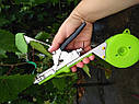 🔝 ПРОФІ НАБІР для підв'язки рослин SADOVOD: тапенер, 🟢стрічка 15 мотків/150мкм + 10000 скоб, фото 3