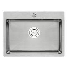 Кухонная мойка QT D5843 2.7/1.0 mm из нерж.стали