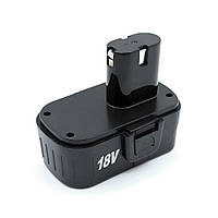 Аккумулятор Ni-Cd 18 v прямой 3 контакта для шуруповерта