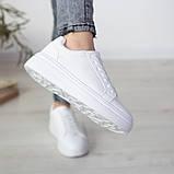 Кросівки жіночі Fashion Algonquin 2519 39 розмір 24,5 см Білий, фото 7
