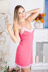 Нічна сорочка Рожева Н912