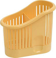 Сушка для столовых приборов пластиковая желтая 140Х65Х145 мм Curver CR-0106-3