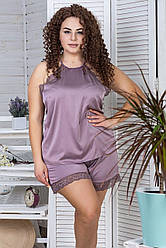Ефектна жіноча піжама батал П1081