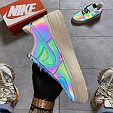 Кроссовки Nike Air Force 1 Low Reflective, черного цвета, Найк Аир Форс, фото 3