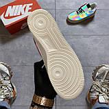 Кроссовки Nike Air Force 1 Low Reflective, черного цвета, Найк Аир Форс, фото 4