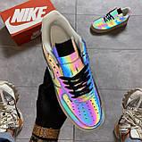 Кроссовки Nike Air Force 1 Low Reflective, черного цвета, Найк Аир Форс, фото 5