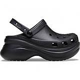 Женские кроксы Crocs Classic Bae Clog черные 37 р., фото 2