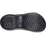 Женские кроксы Crocs Classic Bae Clog черные 37 р., фото 6