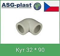 Кут 32 * 90 asg plast чехія