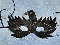 Карнавальная маска - очки Ворона