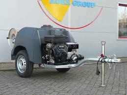 Каналопромывочная машина REMS SmartTrailer 150 бар 50 л / мин
