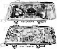 Фара левая мех. - электр. Н4+Н1 (без линзы) coupe/cabrio/6 CYL  Audi 80/90 91-94г.
