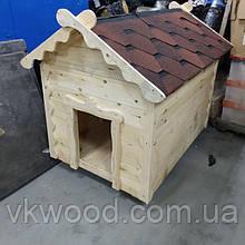 Будка дерев'яна для собак  велика Будка деревянная для собак большая