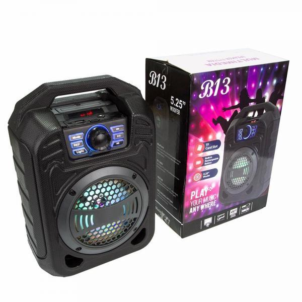 Bluetooth портативная колонка чемодан К25 (B13)