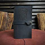 Кожаный блокнот Harry Potter,  Блокнот Гарри Поттер,  (ручка из бамбука в подарок), фото 9