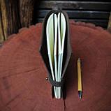 Кожаный блокнот Harry Potter,  Блокнот Гарри Поттер,  (ручка из бамбука в подарок), фото 7