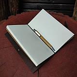Кожаный блокнот Harry Potter,  Блокнот Гарри Поттер,  (ручка из бамбука в подарок), фото 4