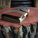 Именной кожаный блокнот,  гравировка и подарочная коробка в подарок!, фото 7
