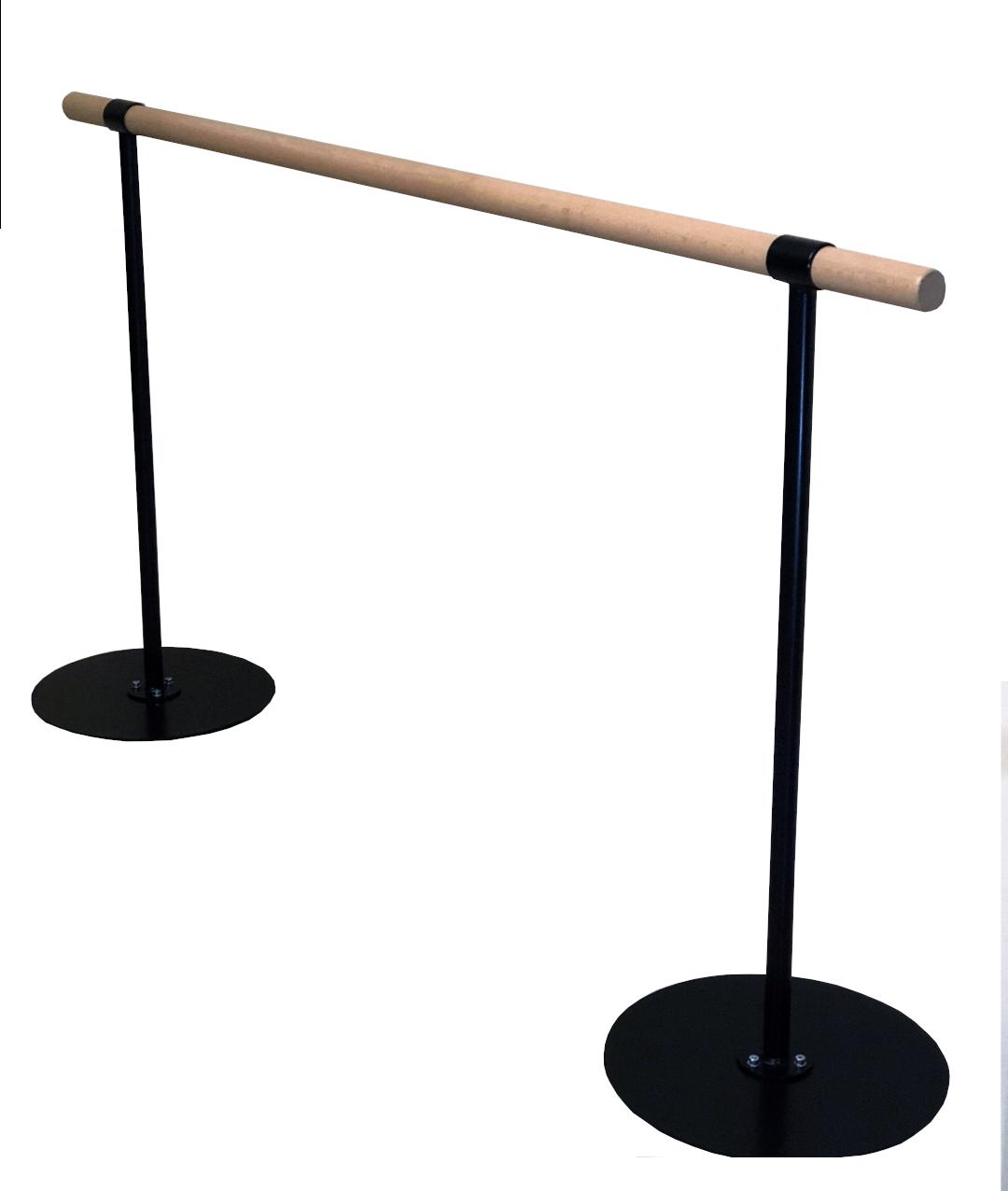 Верстат для гімнастики та балету однорівневий (дерево)