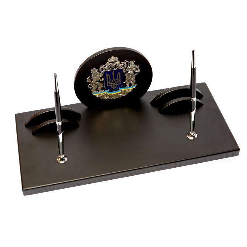 Настольный набор BST 80014 42*21 см чёрный Патриот