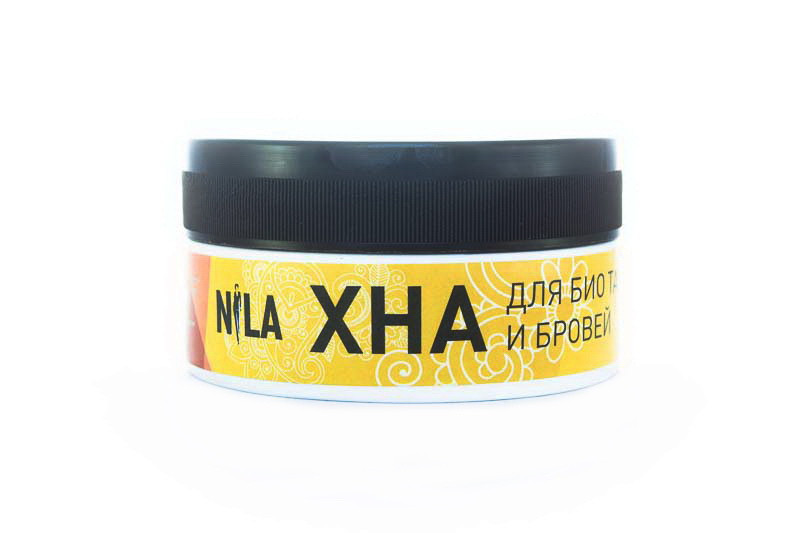 Хна Nila для бровей и биотату, шоколад 20г