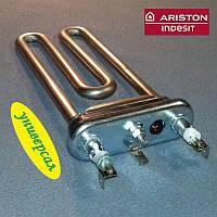 ТЕН 1700W / 170мм (отвір / без бурту / Kawai) для пральної машини Indesit і Ariston