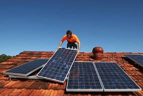 Установка солнечных панелей для СЭС - профессиональный монтаж фотомодулей  под ключ