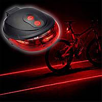 Фонарик велосипедный с лазером BIKE LIGHT BL-118