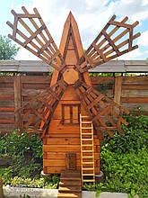 """""""Великан"""" - декоративная мельница из натурального дерева"""