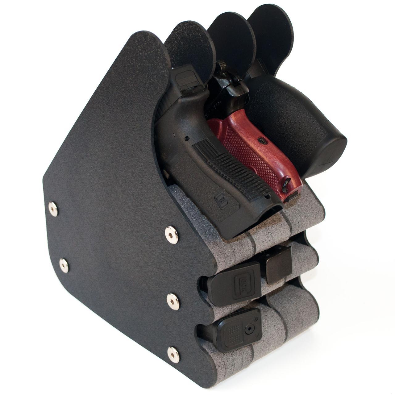 Подставка под 3 пистолета и 6 магазинов ПЛУ3/6 (281/136/238)