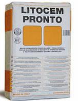 Litokol LITOCEM PRONTO  25 кг - готовый к применению состав для выполнения быстросохнущих стяжек( LTCPNT0025 )