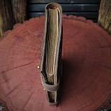 Кожаный блокнот А5 , персонализация, фото 4