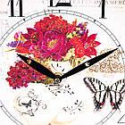 """Интерьерные часы в стиле Прованс  """"Летние краски"""" (29см) (008AL), фото 3"""