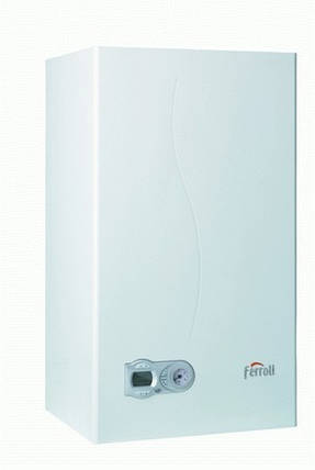 Газовый котел Ferroli DIVAtech D С32 кВт открытая камера сгорания (дымоход) Черкассы, фото 2