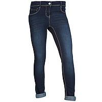 Стрейчевые джинсы на девочку Kiabi (Италия) р114-119,  138-143 см