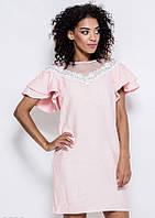 Платья ISSA PLUS 5929 S розовый