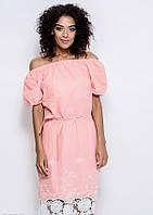 Платья ISSA PLUS 5925 S персиковый