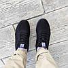 Летние кроссовки черные мужские текстильные сетка в стиле adidas yeezy, фото 4