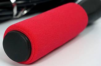 Скакалка Profi с подшипником (MS 0186R) Красная, фото 2