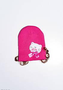 Дитячі шапки ISSA PLUS 7928 Універсальний малиновий