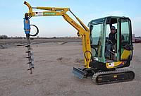 Гидравлическое буровое оборудование Drd-4 (Англия) на мини-экскаваторы 1-5 тонн, мини-погрузчики и др..