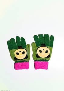 Дитячі рукавички і рукавиці ISSA PLUS 7874 Універсальний салатовий/зелений