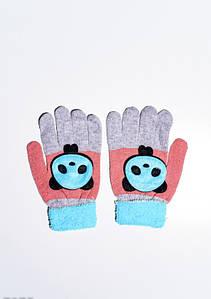 Дитячі рукавички і рукавиці ISSA PLUS 7874 Універсальний сірий/синій