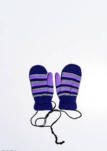 Дитячі рукавички і рукавиці ISSA PLUS 7871 12 місяців темно-синій