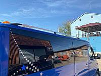 УАЗ 3151 Рейлінги DD (2 шт., алюм) 340 см, Хром