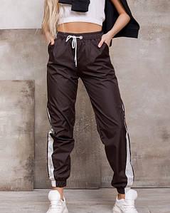 Спортивные штаны ISSA PLUS SA-124 M темно-коричневый